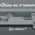 Site vitrine ou e-commerce ?